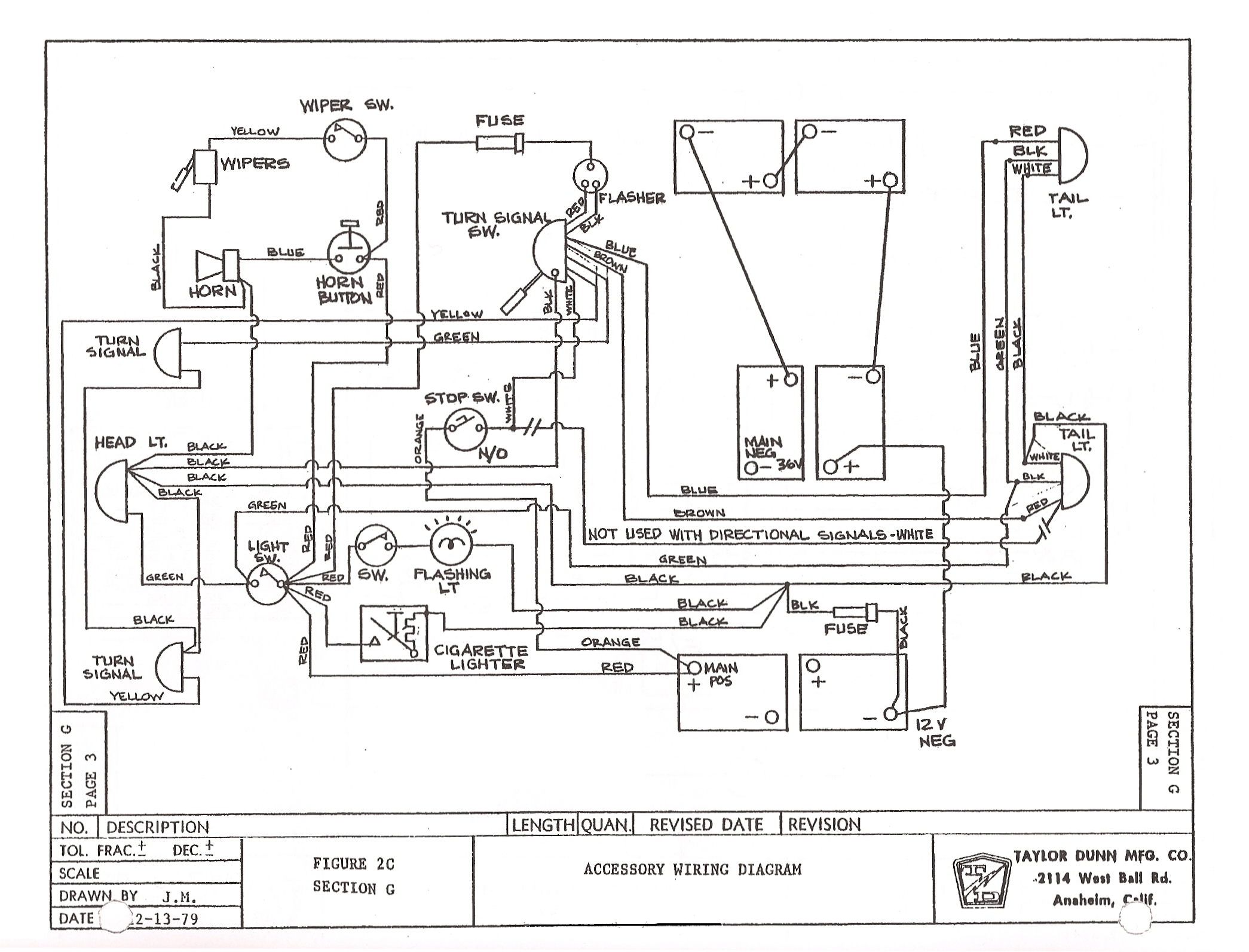Ruff Tuff Golf Cart Wiring Diagram 48v