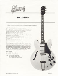Gibson ES340 TD Electric Guitar