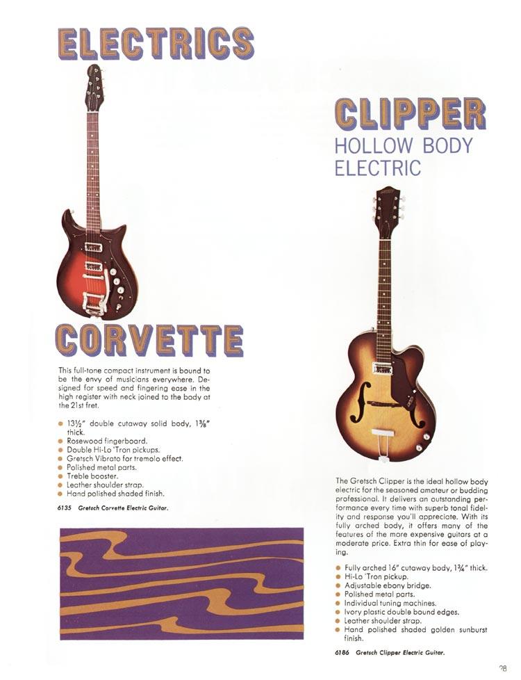 gretsch guitar values