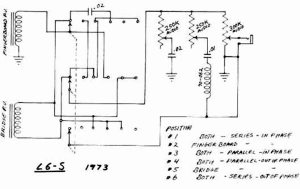 Gibson L6S schematics & parts lists >> Vintage Guitar and Bass