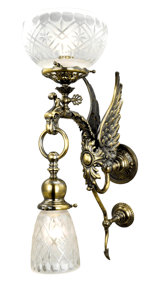 Vintage Hardware & Lighting - Victorian and Rococo Lighting on Victorian Wall Sconces id=80246