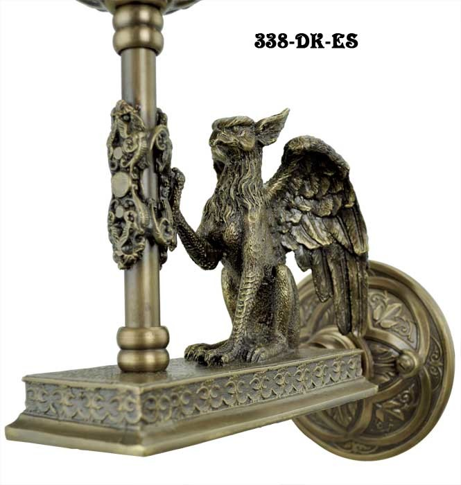 Vintage Hardware & Lighting - Victorian Gothic Figural ... on Victorian Wall Sconces id=20027