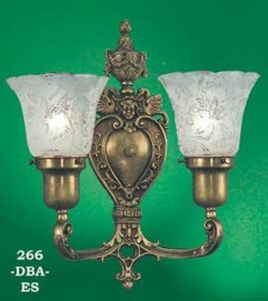 Vintage Hardware & Lighting - Antique Reproduction Wall ... on Victorian Wall Sconces id=47173