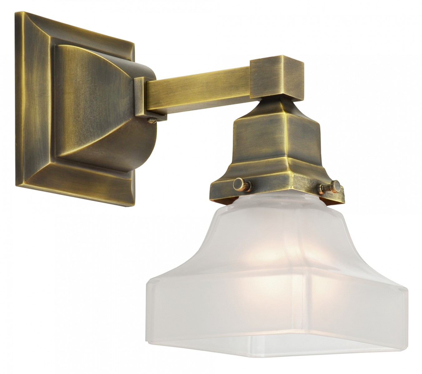 Vintage Hardware & Lighting - Mission Style Single ... on Sconces No Electric Power id=21037