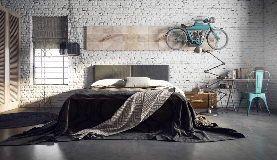 Magnificent Industrial Style Beds