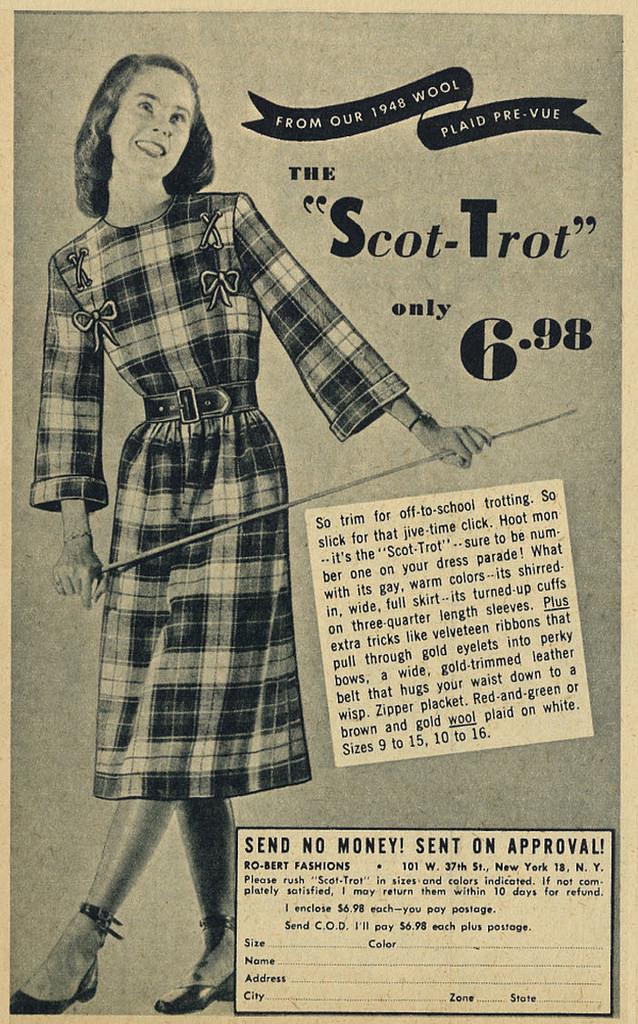 1940s teen advertising ad