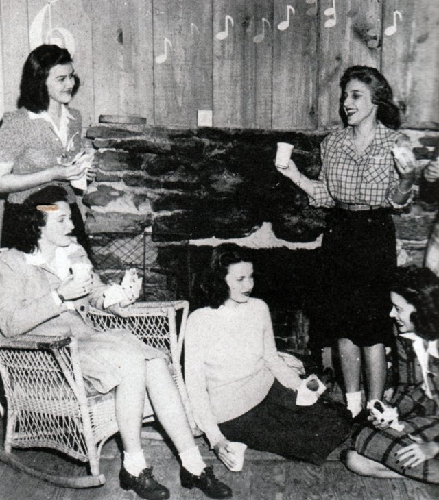 1940s vintage party images
