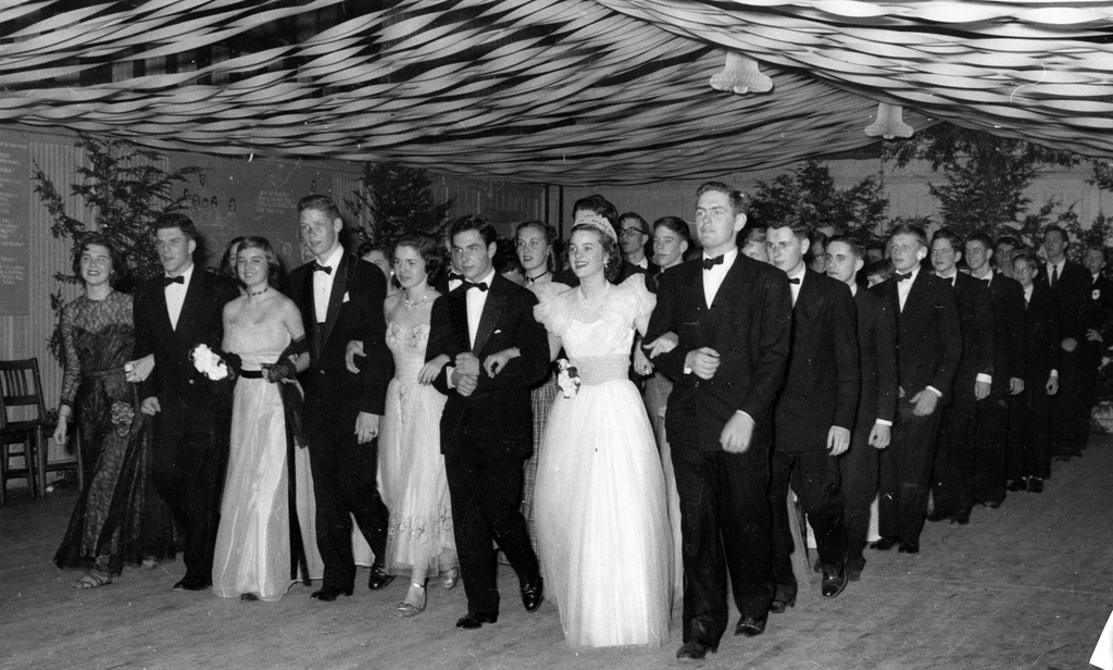 Prom In The 1940s And 1950s The Vintage Inn
