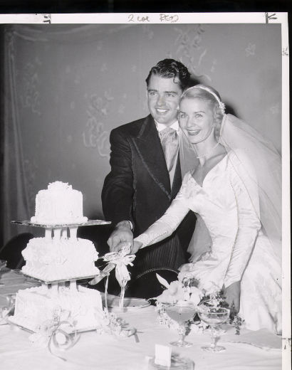 Barbara Ann Scott Wedding Photo