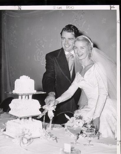 Barbara Ann Scott Wedding Photo