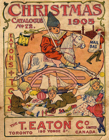 Eatons Christmas Catalogue 1905