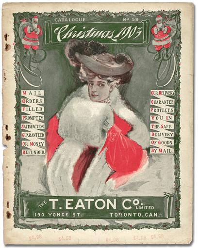 Eatons vintage christmas catalogue 1903