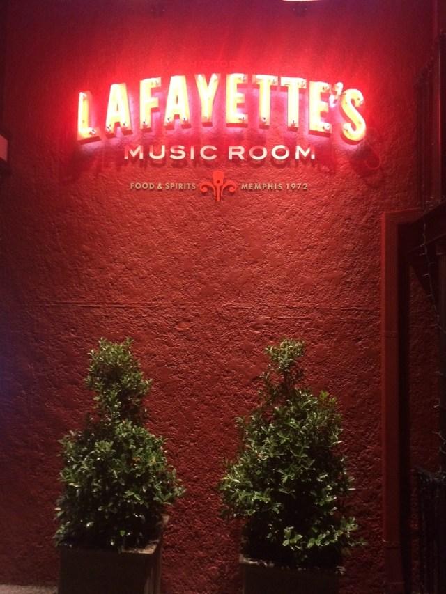 Lafayette's Music Room Memphis