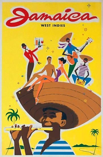 Jamica Travel poster vintage