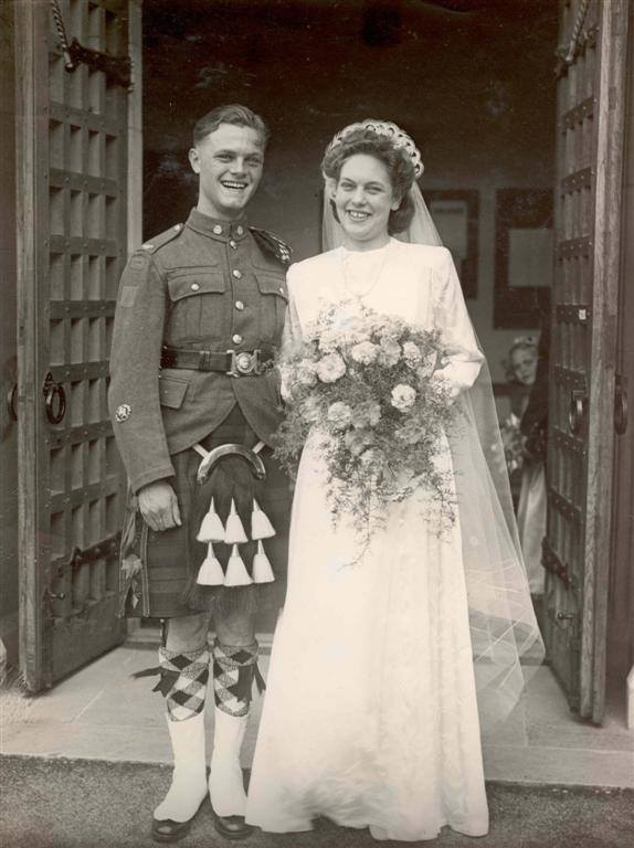1940s Canadian War Bride