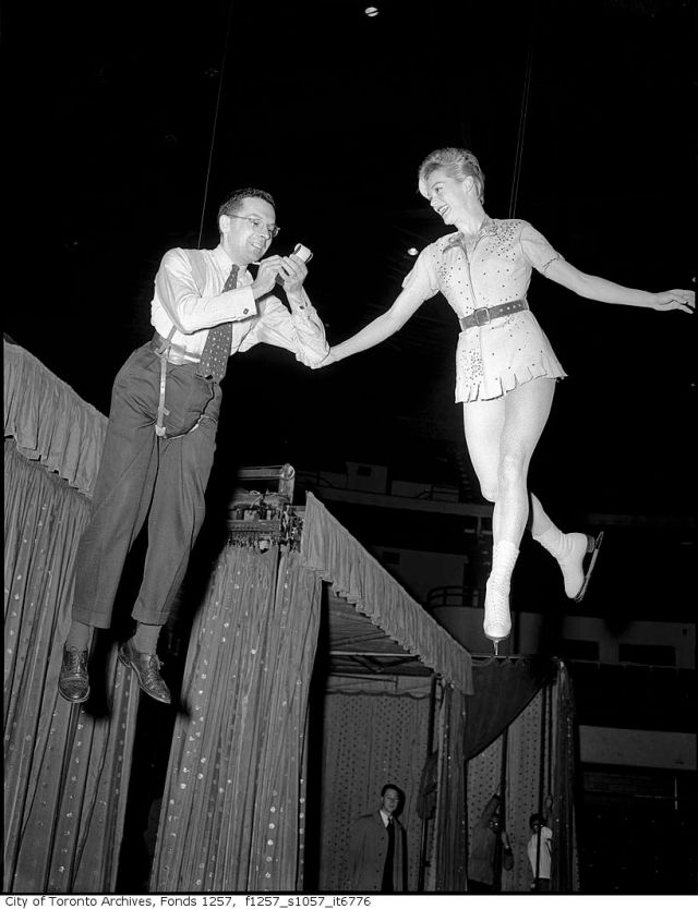 1950s Ice Capades Maple Leaf Gardens