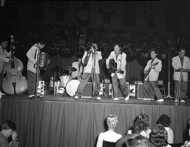 Bill Haley and the Comets, 1956 Maple Leaf Gardens