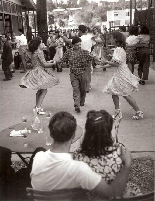 Rockabilly Jive Dancing