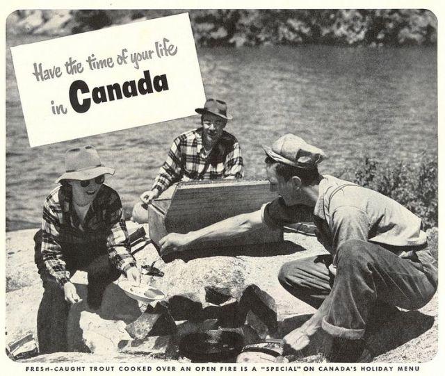 Vintage 1950s Canada