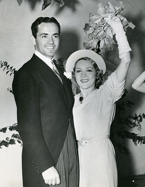 Buddy and Mary pickford 1937