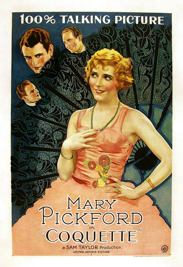Mary Pickford first talkie Coquette