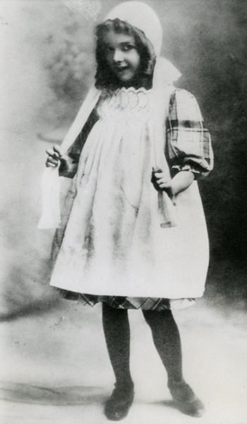 Mary Pickford as a Child in 1902