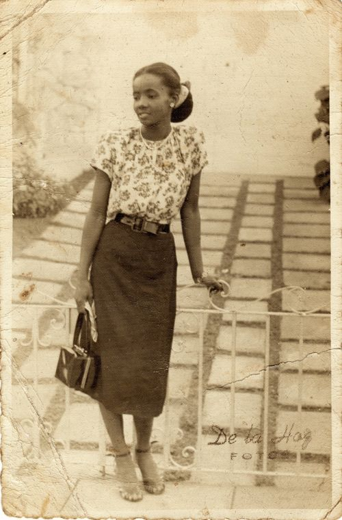 1950s vintage woman