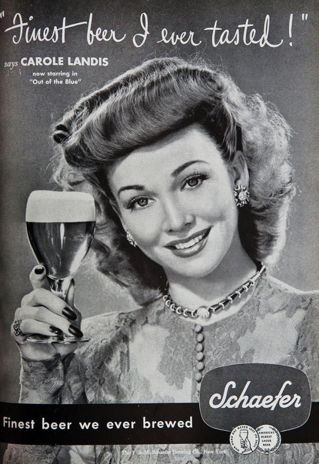 Schaefer Vintage Beer Advertising