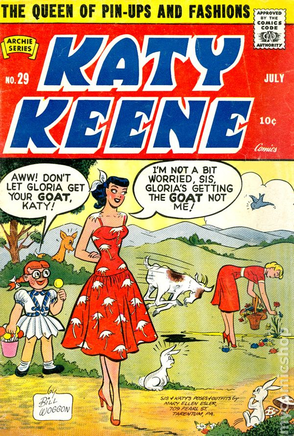 1950s Katy Keene