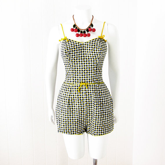 1950s playsuit