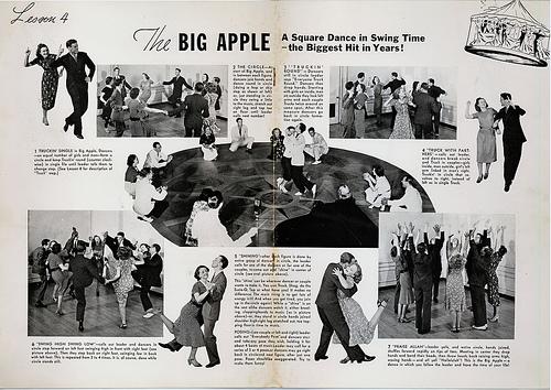 dancing the big apple