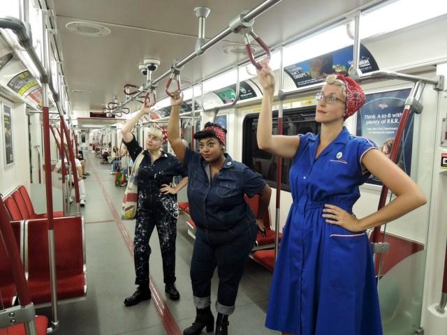 TTC Subway Rosie the Riveter 1940s