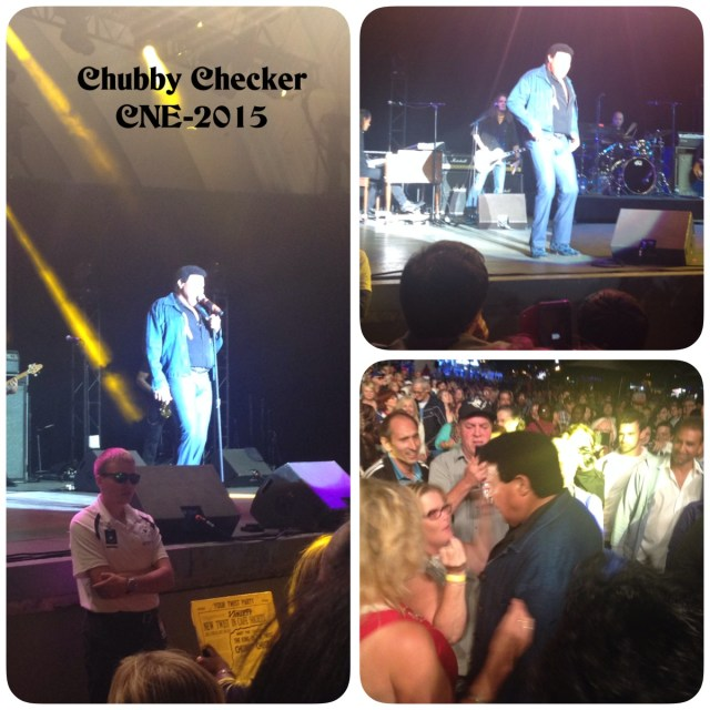 Chubby Checker at the CNE
