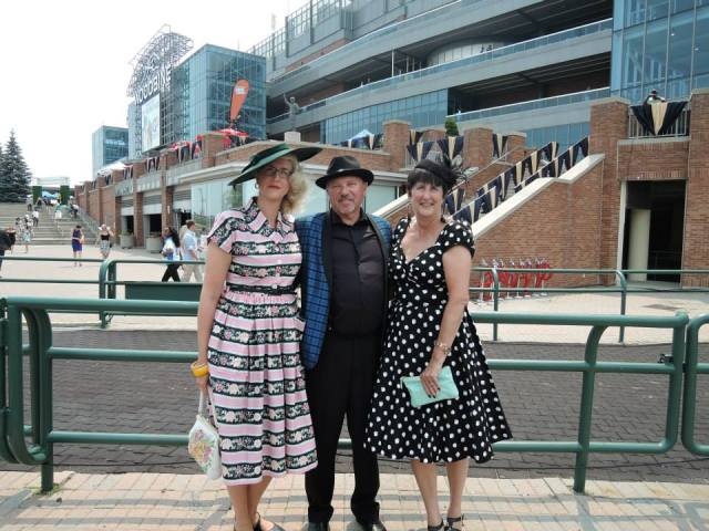 Hats and Horseshoes at Woodbine Racetrack 2015