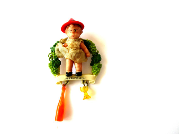 German vintage oktoberfest pin