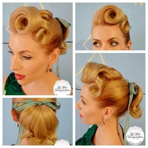 1950s Rockabilly Hair