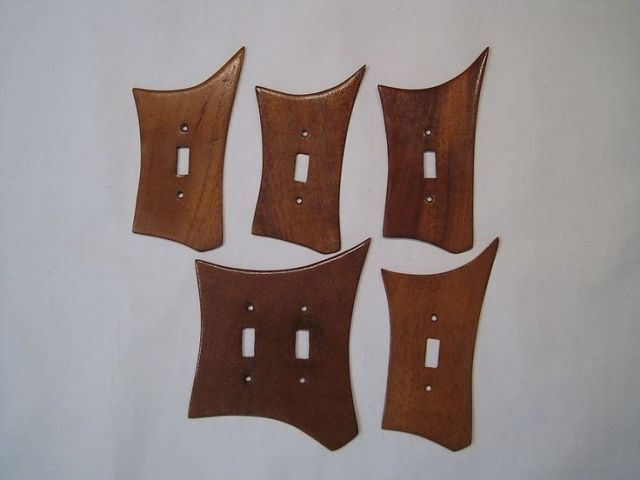 1950s mid century switch plate covers