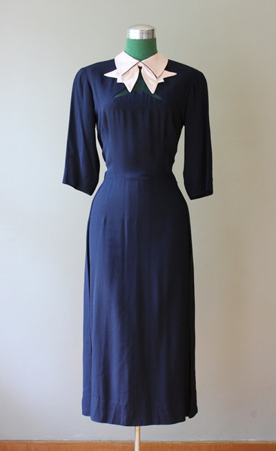 howard Greer 1940s dress