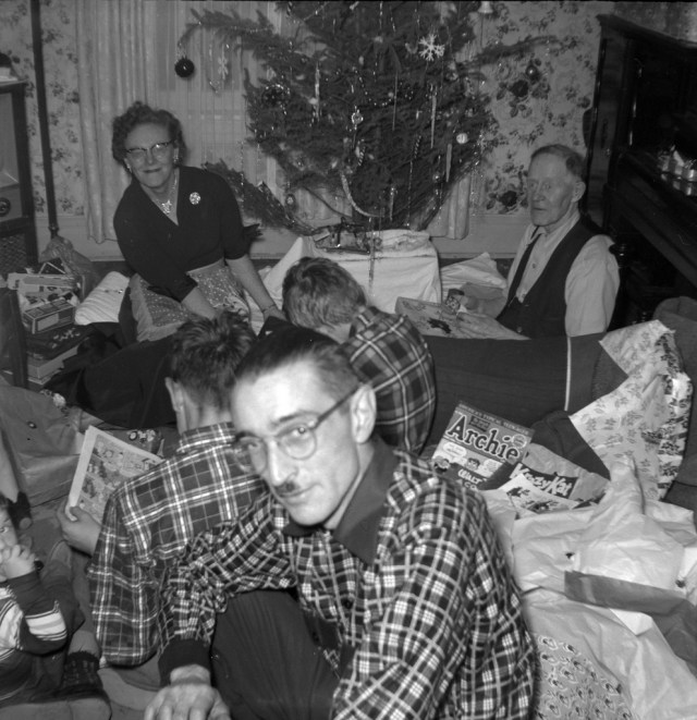 Toronto Christmas 1953