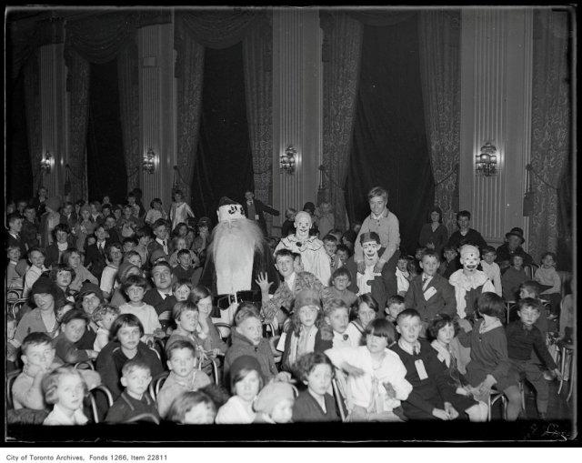 Lions' Club Xmas [Christmas] party scene, KE.