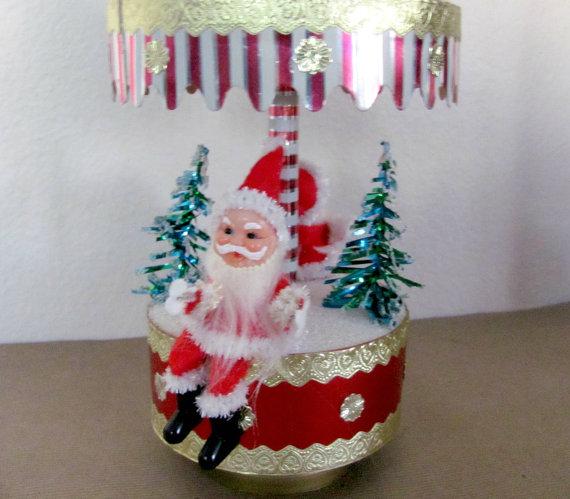 kitsch vintage santa 1960s