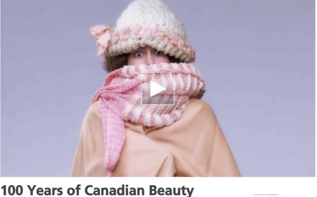 22 minutes 100 years of canadian beauty