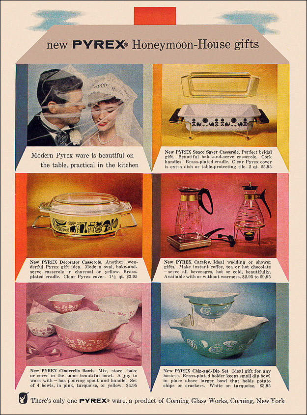 Pyrex Ad, 1958