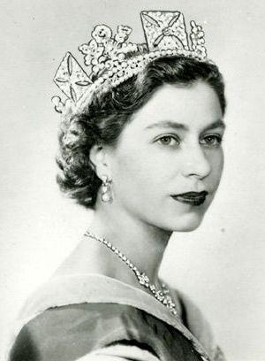 Queen Elizabeth the 11 1950s
