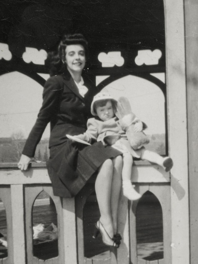 1940s Mother and Child
