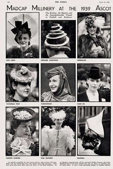 1939-Vintage-Hats-at-Ascot