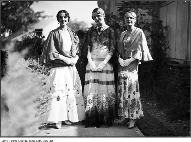 1926 Toronto Fashions for women
