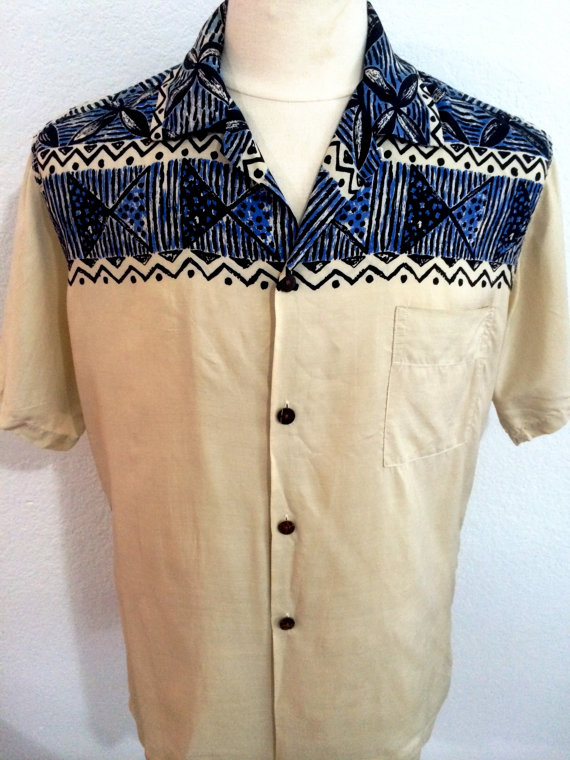 1940 Silk Hawaiian Shirt