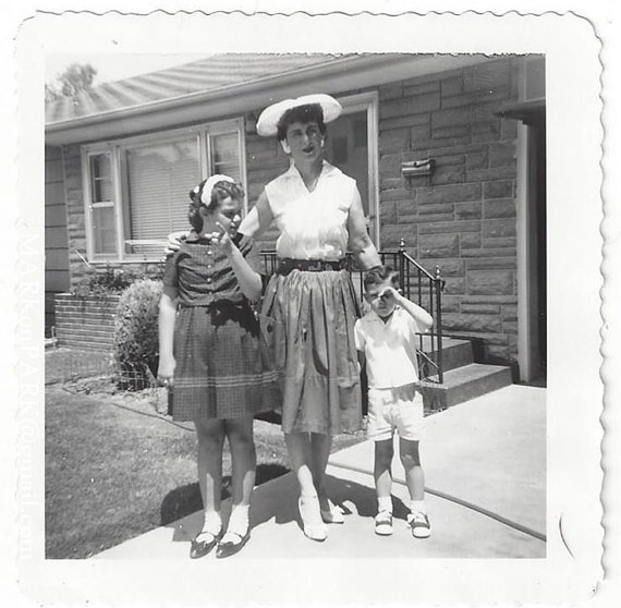 1961 vintage family image