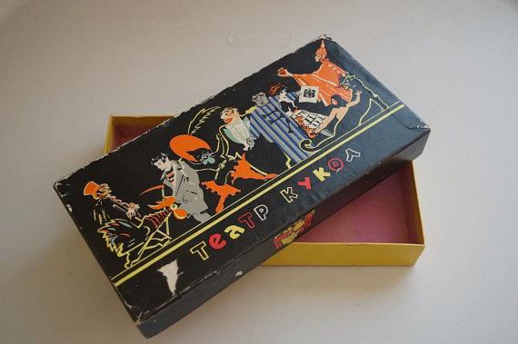 Vintage 1920s Halloween Box